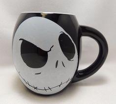 Jack Skellington Coffee Cup Mug 18 oz Disney Nightmare Before Christmas New   #Disney