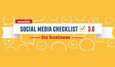 Social Media Checklist: Follow This Guide for Social Media Marketing Success