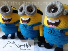 Amigurumi Minion Tarifi : La calle de la abuela: minions crochet like monet pinterest