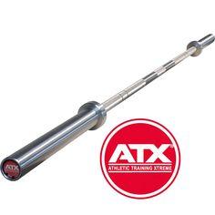 Original ATX® Power Bar - chrom - MK. Die ATX® Power Bar`s sind aus hochwertig legiertem Spezialstahl / Federstahl präzise gefertigte Hantelstangen im High-End-Finish Die Stangen haben eine extrem Hohe Zug-und Druckfestigkeit bei gleichzeitiger Elastizität. Ob für Functional Fitness, Gewichtheben - oder Powerlifting, http://www.megafitness-shop.info/Kraftsport/Hanteln-Gewichte/Hantelstangen/50-mm/ATX-Power-Bar-Chrom-MK--3599.html