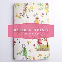 'Book Binding Tutorial...!' (via Amy Robison Blog)