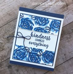 ORDER STAMPIN' UP! ON-LINE 24/7. Create a simple friendship card using Abstract Impressions stamp set. FREE PDF Tutorials. 1000+ card ideas & daily paper crafting tips.