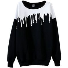 Mooncolour Women's New Fashion Splicing Print Long Sleeve Pullover:Amazon.co.uk:Clothing