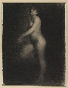 Georges Seurat, 1859-1891, 1859-1891, peintre français, pionnier du pointillisme et du divisionnisme. Peintre de genre, figures, portraits, paysages animés, paysages, peintre à la gouache, dessinateur.