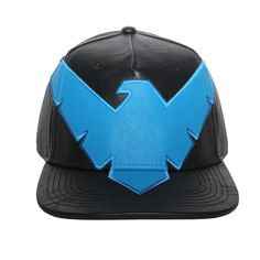 Grab this Bioworld Licensed DC Comics Nightwing Suit Up PU Leather Snapback  Hat! Go get 44de0a23127d