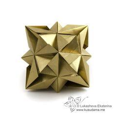 Kusudama - origami cube