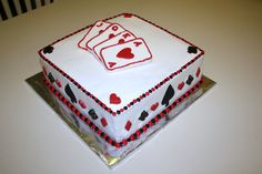 Bridge Card Cake
