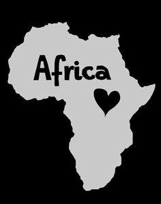 Resultado de imagem para i love africa quotes Arte Black, Black Art, Africa Tattoos, Afrique Art, African Love, African Proverb, Out Of Africa, African Diaspora, My Land