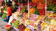 """Explosion de saveurs et de couleurs dans le marché de Candikuning - Carnet de voyage """"Voyage de noces à Bali"""""""