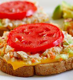 Skinny Tuna Melt!!! |skinnytaste.com