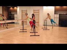 Barre Fitness | At The Barre Workout - YouTube