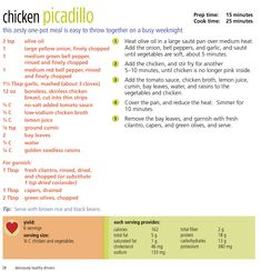 A heart healthy diet limits sodium, saturated and trans fats, and added sugars. The DASH eating plan does all of that with plenty of great delicious options, like this quick and easy recipe for Chicken Picadillo! Dash Eating Plan, Eating Plans, Heart Healthy Diet, Heart Healthy Recipes, Cheap Healthy Snacks, Healthy Meals, Picadillo Recipe, Trans Fat, Easy Chicken Recipes