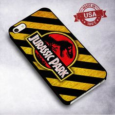 Awesome Jurassic Park Don't Cross - For iPhone 4/ 4S/ 5/ 5S/ 5SE/ 5C/ 6/ 6S/ 6 PLUS/ 6S PLUS/ 7/ 7 PLUS Case And Samsung Galaxy Case