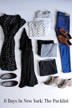 What to pack when exploring New York for a week in Spring. || It's a kingdom