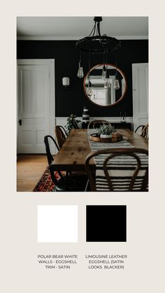 The Best Black & White Paint Colors: As Seen on Instagram | Miranda Schroeder Blog  www.mirandaschroeder.com
