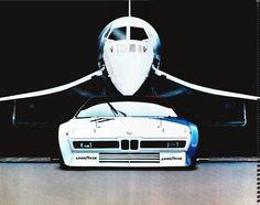 BMW M1 vs. Concorde