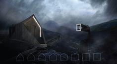 school studio trekking cabins remote highlands iceland designboom