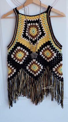 Crochet Jacket, Crochet Blouse, Crochet Poncho, Crochet Stitches, Crochet Bikini, Knit Crochet, Crochet Summer Tops, Crochet Woman, Crochet Fashion