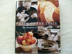 Back to the Table Cookbook 2001 HC DJ (BBM-181)