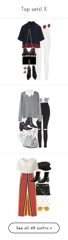 """""""Top sets! X"""" by nikka-phillips ❤ liked on Polyvore featuring ASOS, Proenza Schouler, Alaïa, Isabel Marant, Yves Saint Laurent, Yochi, Christian Dior, Topshop, H&M and Base Range"""