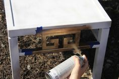 Don't spray paint anything without reading these five tips! - via Charleston Crafted