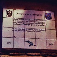 Leyenda del Cristo de la Calavera de Gustavo Adolfo Becquer en el Barrio de San Justo