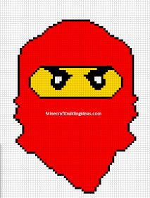 A great place to find pixel art template grids, minecraft building ideas lists and much more for PC, Xbox 360 / One, / 4 and pocket edition! Pixel Art Templates, Perler Bead Templates, Cross Stitch Art, Beaded Cross Stitch, Hama Beads Patterns, Beading Patterns, Lego Ninjago, Hama Art, Pix Art