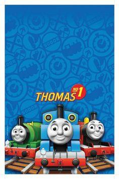 Amscan Thomas Tank Plas T/ Cover: Amazon.co.uk: Toys & Games