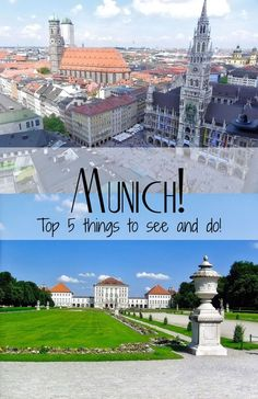 There are so many great things to see and do in Munich! Here's our TOP 5! #munich #germany #travel