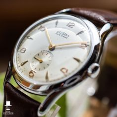 Beautiful vintage Delbana watch for your wrist! Check the other pictures in the listing area, and do not forget to like the watch if you think it is nice.