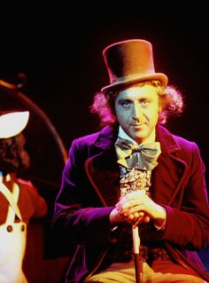 Gene Wilder on the set of Willy Wonka and the Chocolate Factory, 1971