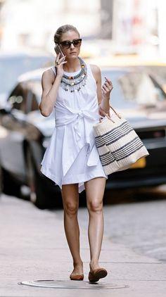 Olivia Palermo's NYC summer style