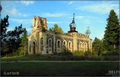 Kuri Kirik, Hiiumaa, Estonia