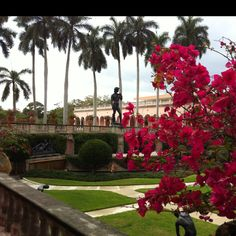 Ringling Art Museum Sarasota, Florida  Was thrilled to see (original) David in Florence with special press clearance!