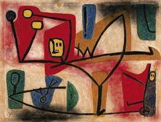 Exubérance, par Paul Klee (1879-1940)