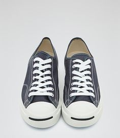 Mens Navy Jack Purcell Trainers - Reiss Jack Purcell