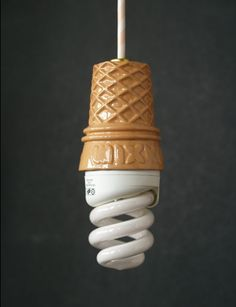 """soft serve"" light - so cute for kids table or playroom"