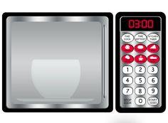 DIGITAL DOWNLOAD Refrigerator and Microwave Printable por Printatoy