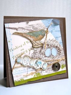Dad's Father's Day Card... by Luv Flowers - Cards and Paper Crafts at Splitcoaststampers