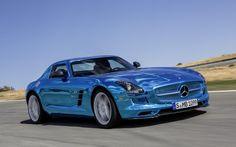 Mercedes-Benz SLS AMG Electric Drive   Photo Gallery - Yahoo! Autos