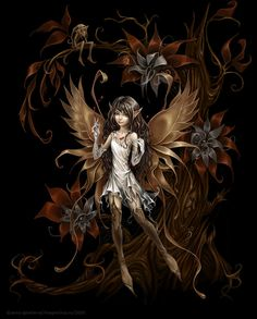 Dark Fairy Photo: This Photo was uploaded by pattywithington. Find other Dark Fairy pictures and photos or upload your own with Photobucket free image a. Fairy Dust, Fairy Tales, Magical Creatures, Fantasy Creatures, Amy Brown Fairies, Dark Fairies, Kobold, Fairy Pictures, Gothic Fairy