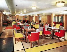 tourist class lounge | Thesmaller Tourist Class Main Lounge certainly has had a big lift and ...