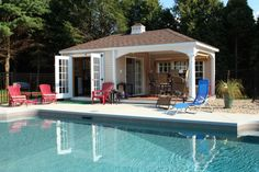 Pool House Design Ideas | Pool house designs, Small pools and Pool ...
