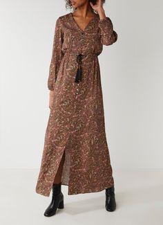 Op zoek naar SuperTrash Dirby maxi-jurk met verendessin en kwastjes ? Ma t/m za voor 22.00 uur besteld, morgen in huis door PostNL.Gratis retourneren.