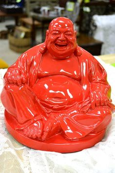 Whimsical Laughing Buddah - How could you resist smiling at this guy?!