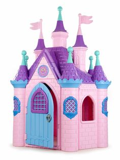Princess Palace, Princess Toys, Pink Princess, Little Girl Toys, Toys For Girls, Toddler Playhouse, Diy And Crafts, Crafts For Kids, Frozen Toys