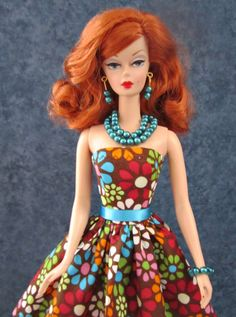 Fashion doll jewelry for Barbie Silkstone by TheDesigningRose