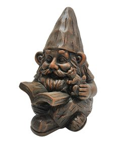Look at this Woodland Storyteller Gnome Statue on #zulily today!