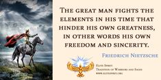 Friedrich Nietzsche Quote Saying Art Nietzsche Quotes, In His Time, Warrior Quotes, Friedrich Nietzsche, Spiritual Life, Barbarian, Heaven On Earth, Philosophy, Strength