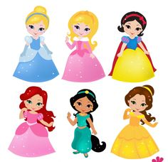 disney prince and princess clip art digital scrap pinterest rh pinterest com disney princess christmas clipart disney clipart princess and the frog
